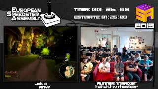 Jak 3 - Speed run in 1:02:16 by ThaRixer Live for European Speedster Assembly 2013