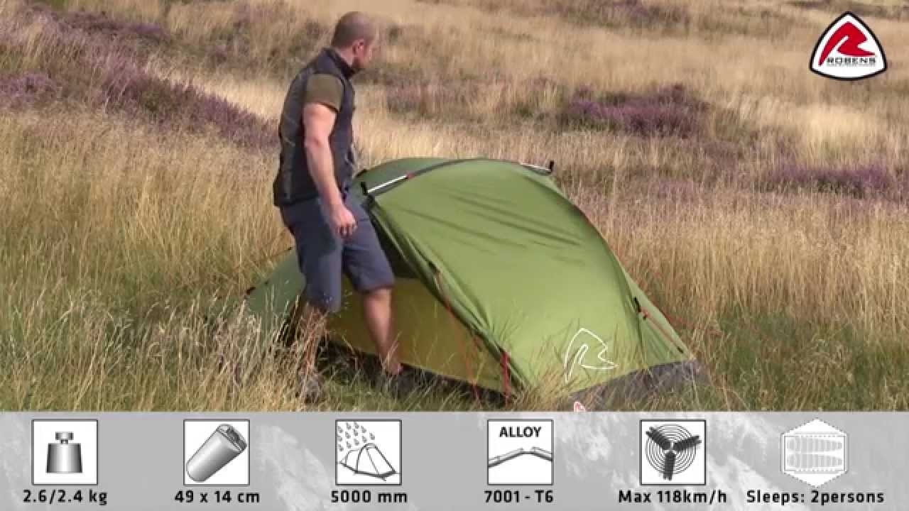 & Robens Verve 2 Tent | Pure Outdoor Passion - YouTube