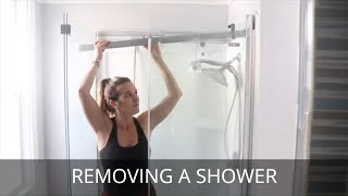 How to Remove a Sh๐wer | Complete Shower Removal