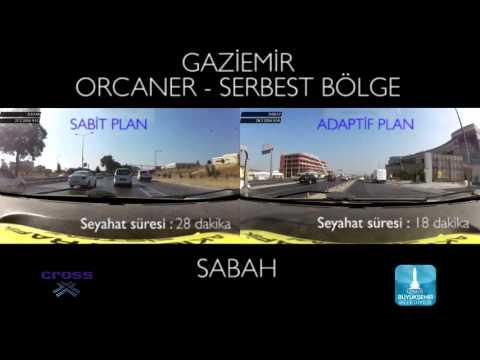 Travel time reduction in Izmir city, Turkey - MORNING TRAFFIC