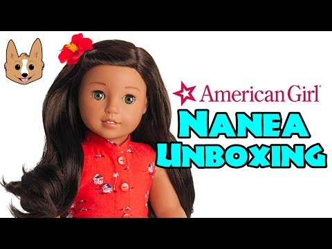 Unboxing American Girl Nanea Doll, Accessories, And Clothes - Large Haul/Review!