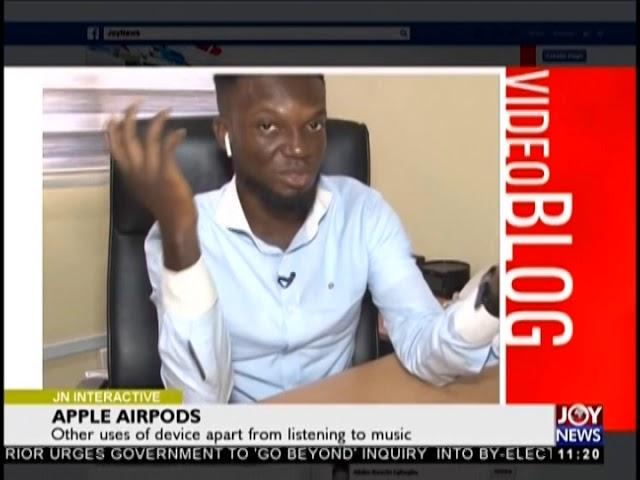 Apple Airpods- JoyNews Interactive (7-2-19)
