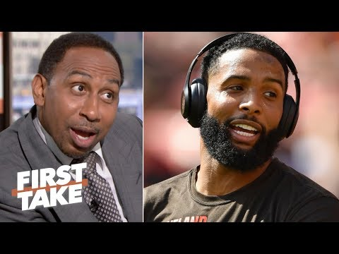 OBJ is distracting us from his play on the field – Stephen A.   First Take