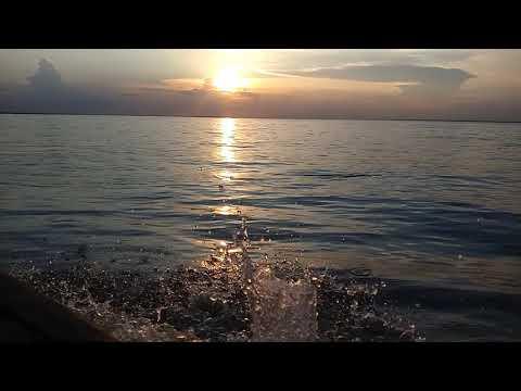 Sunset in Padma river ; Kushtia