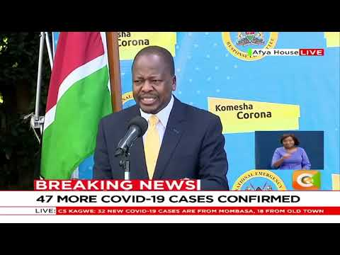 One COVID-19 patient admitted at KNH after sneaking in from Tanzania to Kenya