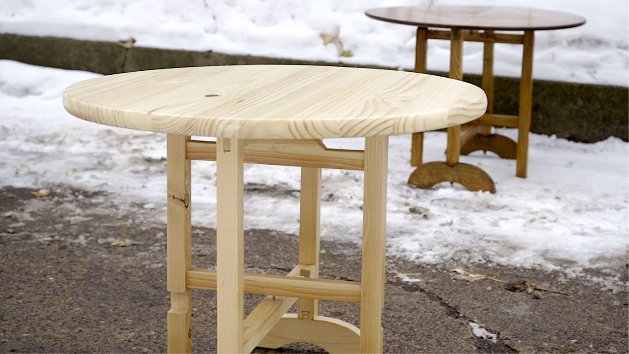 Download Building A Little Folding Table