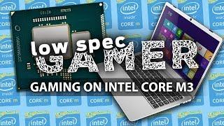 Gaming on a Intel Core m3 Laptop (Doom, Overwatch, Fortnite and more!)