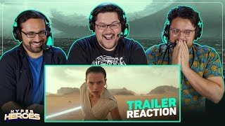 Star Wars: Episode IX - The Rise of Skywalker Teaser Trailer Reaction