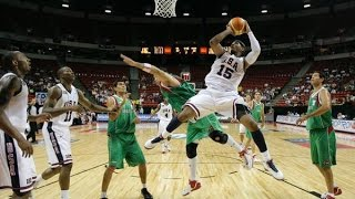 Mexico vs USA 2007 FIBA Americas Basketball Championship Quarter Final Round FULL GAME English