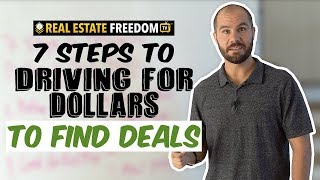 Driving For Dollars Step By Step Tutorial