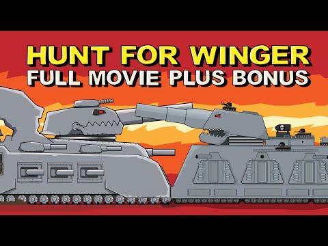 """Hunt for Winger - All series plus Bonus"" - Cartoons about tanks"