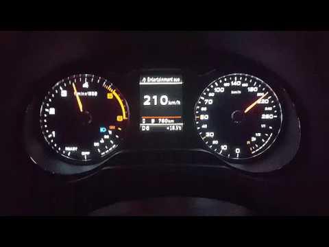 Audi A3 2.0 TDI 0-226 kmh