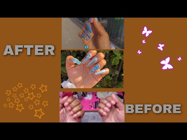 Under $10! DIY Nails At Home!! | *No Acrylic Needed* | Must Watch !!