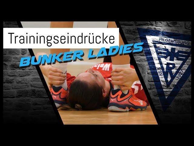 Bunker Ladies trainieren - Wie lange bleibt ihnen noch diese Freude?