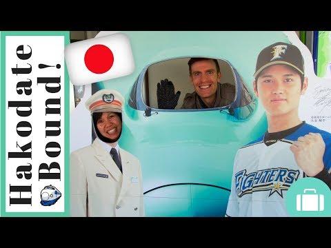 Eating our way from Noboribetsu to Hakodate | Japan 2016 | Episode 8