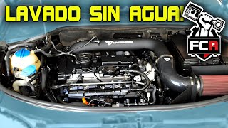 HOW TO CLEAN YOUR CAR'S ENGINE BAY (W/O WATER!) (Spanish w/Eng sub)