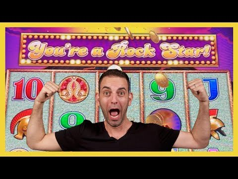 🎸🎉Brian's a ROCKSTAR on Pompeii🗼Wonder 4 Tower 🎡 Big Wins on Wheel of Fortune ✦ LAS VEGAS  BCSlots