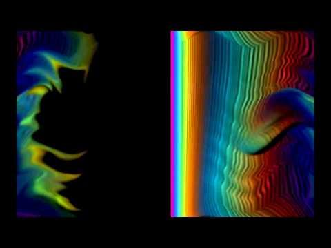 visible spectrum (light waves)