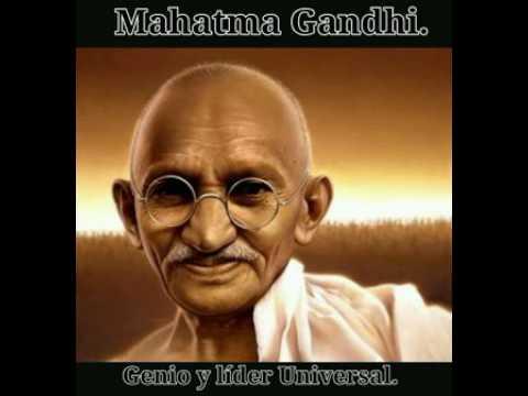 Mahatma Gandhi y el maestro londinense
