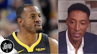 scottie pippen agrees with andre iguodala nobodys going to the knicks the jump