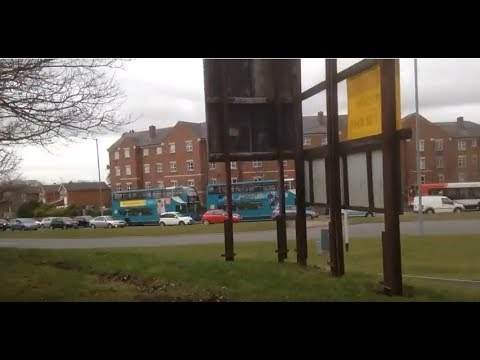 Huyton - Knowsley Lane/Liverpool Road Roundabout Time-lapse