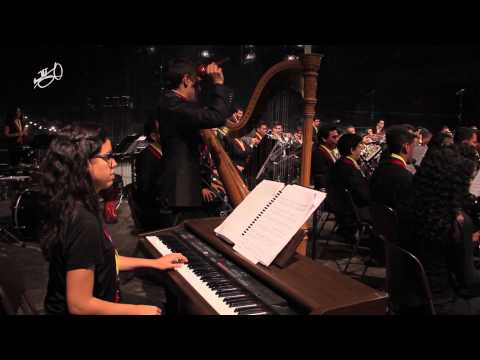 Blazers in Concert: Joropo performed by Simón Bolívar Youth Wind Orchestra olv Johan de Meij