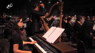 BlazersinBeeld: Joropo performed by Simón Bolívar Youth Wind Orchestra olv Johan de Meij