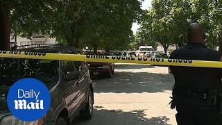 Four bodies have been found in a Cleveland neighborhood
