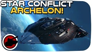 Star Conflict ► ARCHELON: PANCAKE FRIGATE! - Star Conflict Gameplay