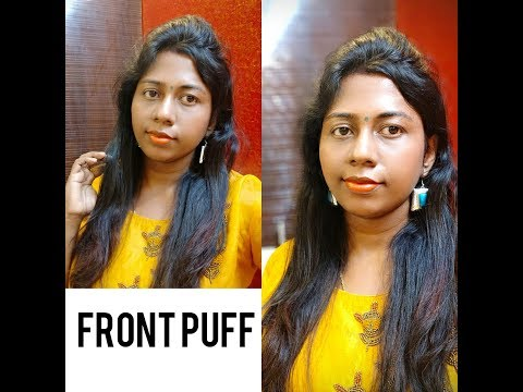 Easy Everyday Front Puff Without Puff Makersimple Hairstyle In