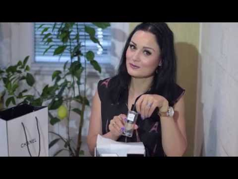 Распаковка парфюмерного подарка Chanel. Chanel Gardenia.