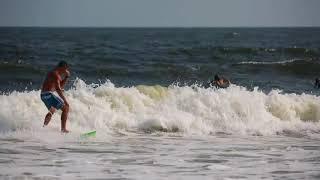 N.J. surfers ride waves from Hurricane Gert
