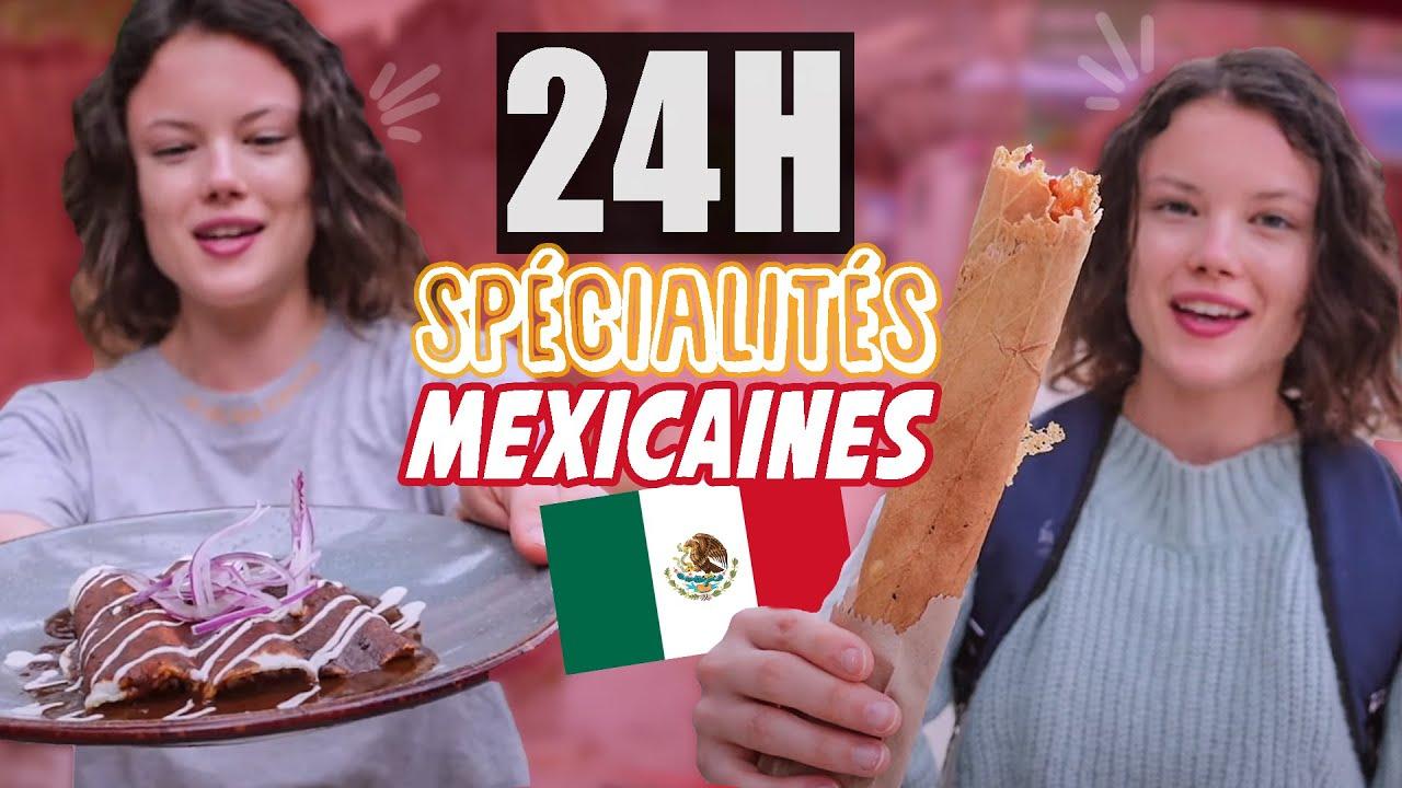 JE MANGE QUE DES SPÉCIALITÉS MEXICAINES AU MEXIQUE - Claire