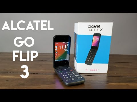 Alcatel Go Flip 3 Full Review - Futuristic 2019 Flip Phone