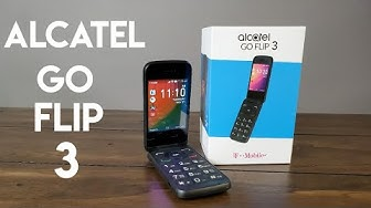 Alcatel Go Flip 3 Full Review - Futuristic 2019 Flip Phone