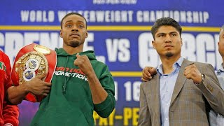 Errol Spence vs. Mikey Garcia PRESS CONFERENCE Gets TESTY! Errol DISRESPECTS Shawn Porter!