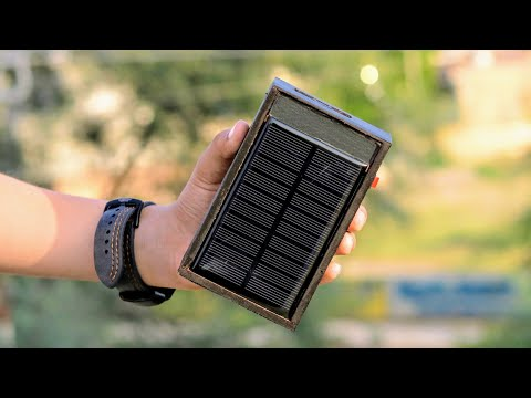 Amazing DIY ideas - Solar Power Bank