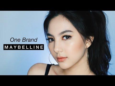 ONE BRAND MAYBELLINE / Easy Glowing Bronze Makeup Tutorial ✨