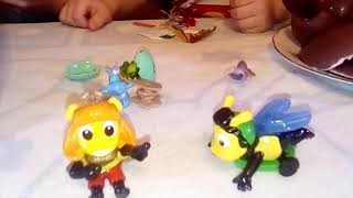 Kinder Surprise MAXI Collection Spring 2018. Chupa Chups balls. Kinder Surprise Collection Hippo