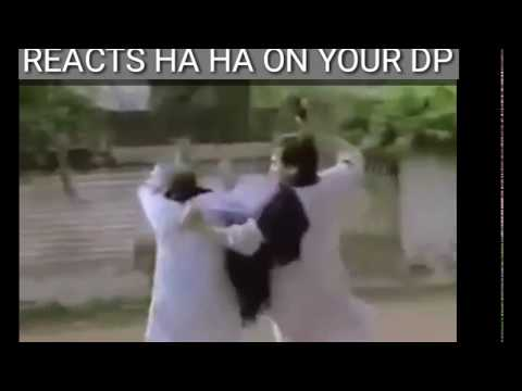 When your friend reacts ha ha on your dp - funny video