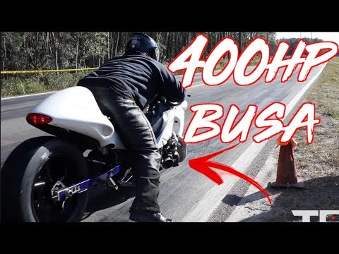 ROWDY 400HP Turbo Hayabusa Wins $20,000 Street Racing!