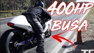 ROWDY 400HP Turbo Hayabusa Wins $20,000 Street Racing!