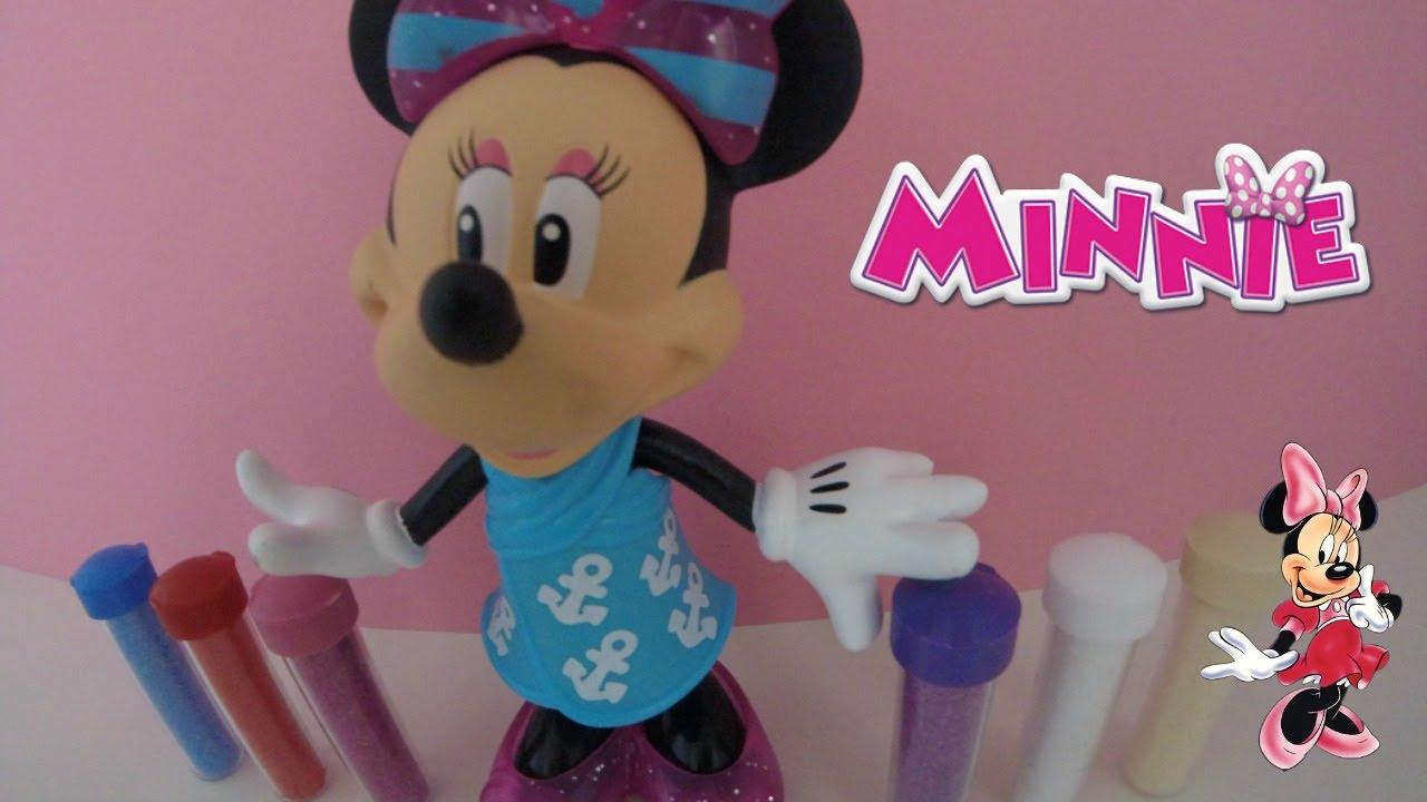 Minnie mouse coloriage pour enfants disney toys coloring diy en francais and friends kids toys - Coloriage gratuit minnie mouse ...