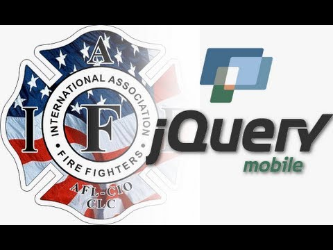 JQuery Mobile Tutorial 1 Fire Fighter SCBA Software Android IPhone HTML5 JavaScript
