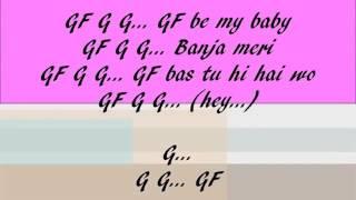 Gf bf full lyrics video