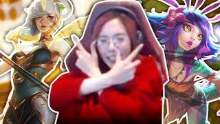【LoL】LILYGOLDCHU ft. Jummy 💩