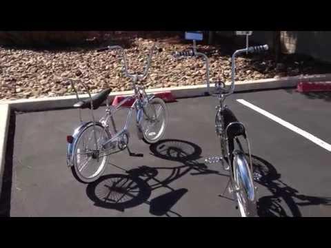 Micargi Lowrider Bike Next To A Lovely Lowrider Bike