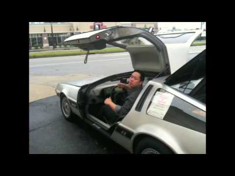 Doctor David Delman's Electric DeLorean