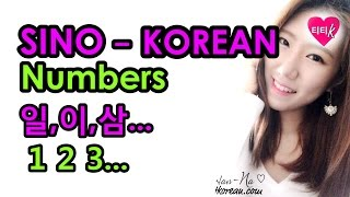 Learn Sino-Korean Numbers| How to count numbers in Korean