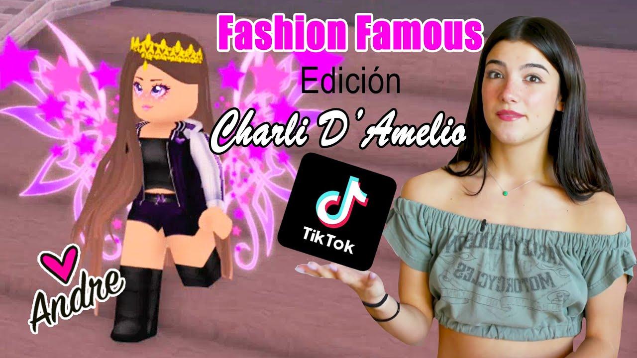 Download Fashion Famous Edición Charli D'Amelio | Andre se hace gamer Juegos de Roblox en español